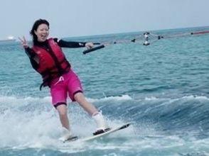 【沖縄・石垣島】爽快!豪快!ウェイクボードで海遊び!の画像