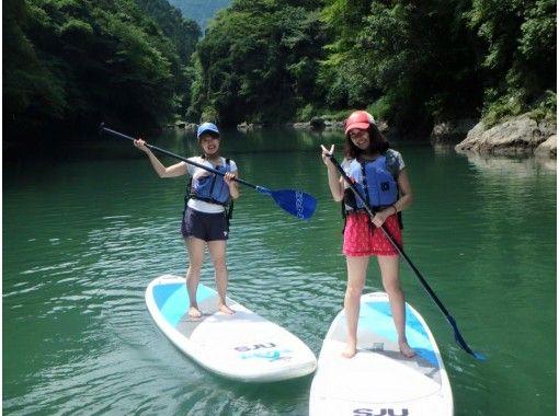 【東京・奥多摩】白丸湖SUP体験ツアー♪半日ショートコース