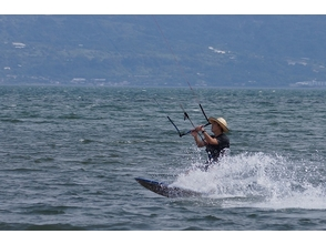 【Kyushu · Kagoshima】 Take a one-on-one care! Image of kite board experience (private course)