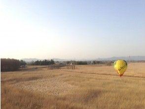 【栃木・渡良瀬】絶景フライト!熱気球フリーフライト体験の画像