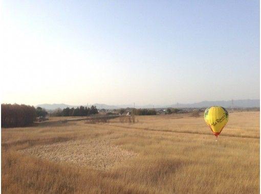 【栃木・渡良瀬】絶景フライト!熱気球フリーフライト体験