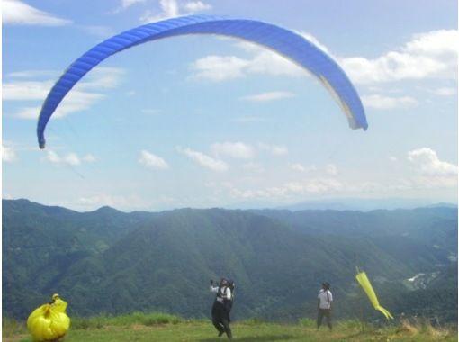 【長野・北アルプス】ライセンスなしでもOK!小谷村でパラグライダー体験(半日・一日)