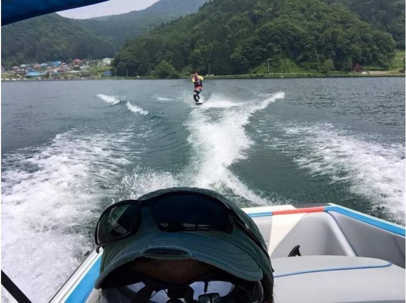 【長野・野尻湖】大自然の中でウェイクボードの紹介画像
