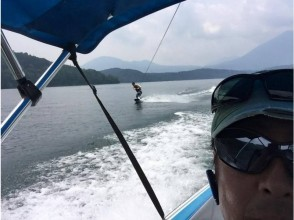 【長野・野尻湖】大自然の中で水上スキー