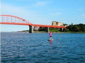 [Ibaraki, Oarai coastal] SUP River cruise course