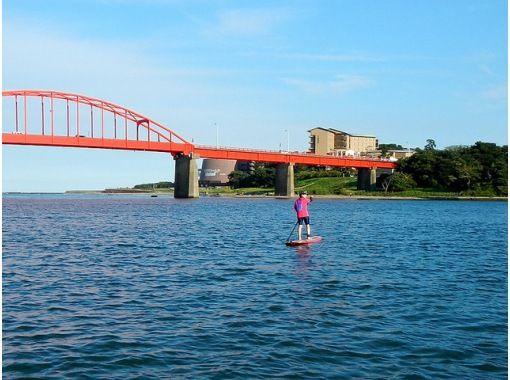 [Ibaraki, Oarai coastal] SUP River cruise courseの紹介画像