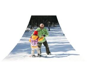 【山梨・富士山】富士山で滑る!スキーレッスンの画像