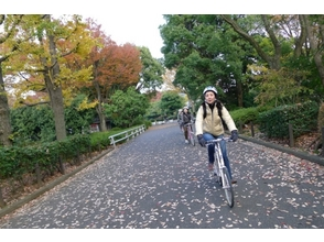[Tokyo · Toranomon Hills] Cycling picnic around the Imperial Palace with a popular bakery! 3.5 hour course image
