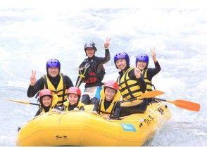 [Saitama Chichibu] down fun! Smile full rafting!