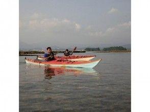 【静岡・熱海】伊豆の山々を眺めながら透きとおる海を満喫!シーカヤック体験(半日コース)の画像