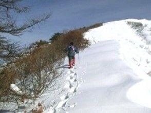 【岡山・蒜山】稜線からの眺めを楽しみ自然観察!上蒜山スノーシュー登山の画像