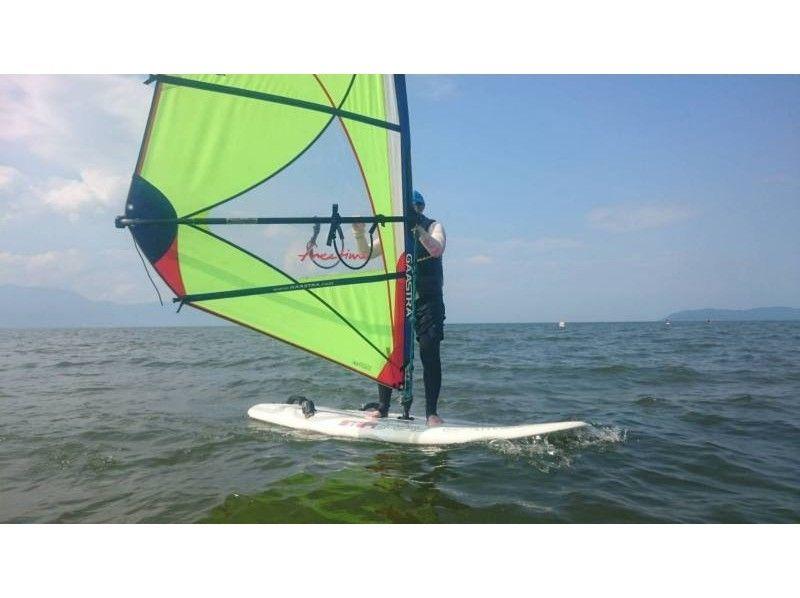 [Shiga Prefecture Lake Biwa] Even beginners are okay! Windsurfing One day experience course