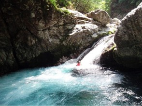 [Nara Yoshino] canyoning 1 day <奧吉 field course> image of