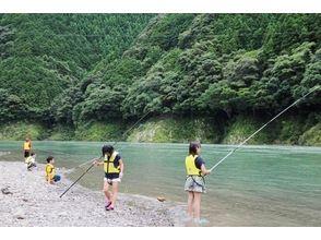 【高知・四万十】小学生からご参加可能!川釣り体験の画像