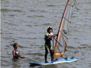 【茨城・大洗涸沼湖】ウインドサーフィン体験スクール(1日コース)の画像