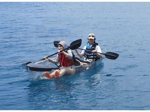 【沖縄・国頭】透明度の高い美ら海のサンゴ礁がお出迎え!シーカヤック!