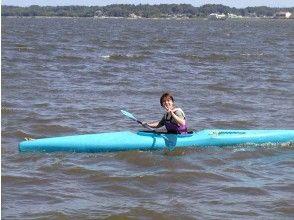 【茨城・大洗涸沼湖】カヌー体験スクール(1日コース)の画像