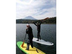 【山梨・山中湖】大人からこどもまで楽しめる!SUP山中湖クルーズの画像