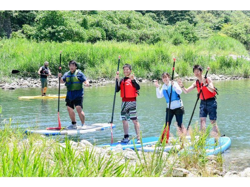 [Tochigi-Nikko] Kawaji Hot spring SUP experience tour (Kinugawa area)