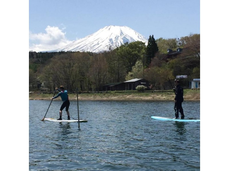 [Yamanashi Yamanakako] enjoy the Lake Yamanaka! Yamanaka SUP round cruising the introduction image
