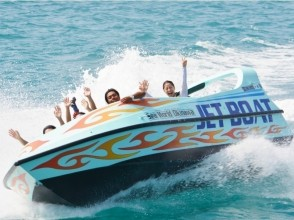 [Okinawa Churaumi] buzz! Image of the jet boat and parasailing experience