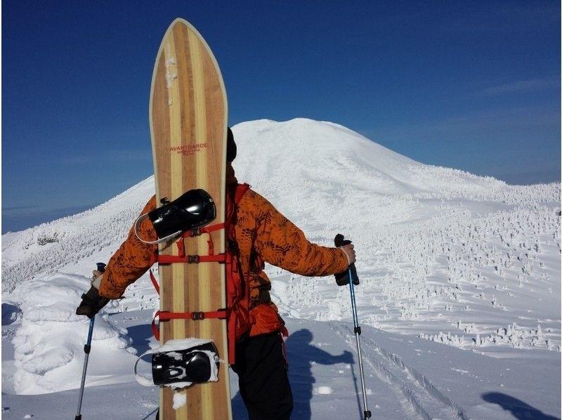 【青森・八甲田 奥入瀬】八甲田バックカントリースキー&スノーボード!専門スタッフによるガイドつき!
