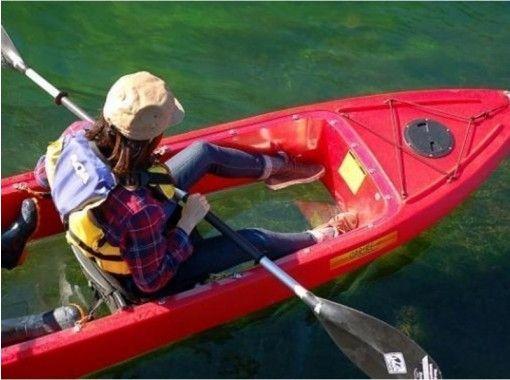 【北海道・支笏湖】クリアカヤックツアー (春・夏) 11年連続水質日本1位 写真&温泉割引券プレゼント