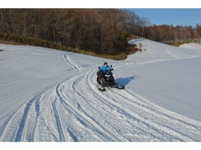【20 minutes from New Chitose Airport in Hokkaido! Children together too! Snowmobile Experience Plan! Image of