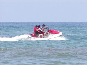 [ 岛根 ·Hamada]如果您品尝速度感! 水上摩托体验!
