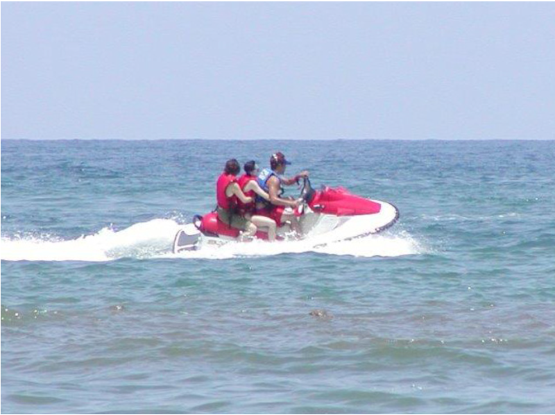 [島根-Hamada]如果你感受到Kore的速度感!水上摩托體驗!