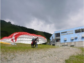 [Nagano / Hakuba <flying and one person in the experience after the instructor> tandem + mini-experience course