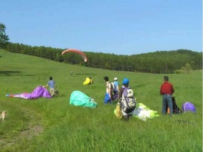 [Hokkaido Tokachi] paragliding lesson of image