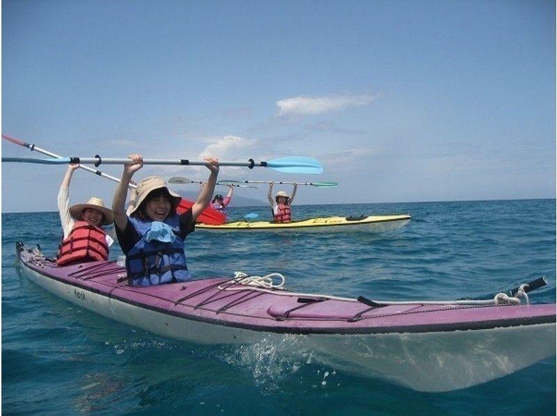 [Kagoshima / Yakushima] Regional common coupon dealer Take a walk in the sea of Yakushima Sea kayak experience (1 day course)の紹介画像