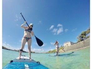 【 Okinawa · Miyakojima 】 Popularity No. 1! SUP + sea turtles Snorkeling Photo Tour (half Sun course)