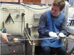 【埼玉・川口】ただひとつのマイグラス! 吹きガラス・グラス制作体験~6才から体験できます!