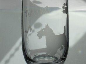 【埼玉・川口】名前や特別なメッセージも刻める「サンドブラスト・グラス制作」プレゼントにも最適!
