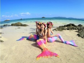 [Okinawa Ishigaki Island] to become a mermaid! Image of island snorkeling phantom