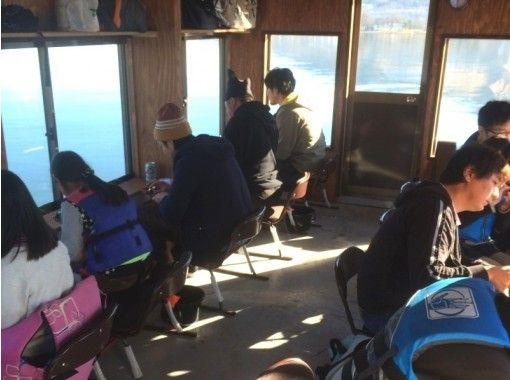 【山梨・山中湖】富士山のふもとで!ドーム船でワカサギ釣り!最大7時間!【快適ドーム船】
