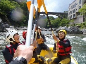 [Tokyo / Okutama] Rafting tour < You can do BBQ!・ There is group discount! >