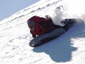 [栃木縣日光] Kirifurikogen雪鞋和空氣板體驗之旅!貪婪的戲雪! (1天,午餐)