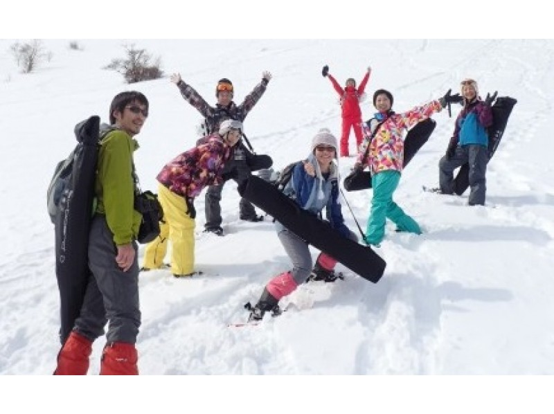 [Tochigi/ Nikko] Kirigiri Kogen Snowshoes&Air board Experience Tour! Play with greedy snow! With lunch and pick-up (1 day)