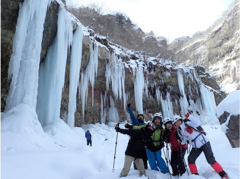 [Tochigi/ Nikko] Mysterious adventure experience for a limited time! Unryu Valley Icefall Trekking Tour (1 day) For healthy legs!