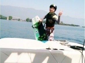【滋賀・琵琶湖】ウェイクボード体験プランの画像