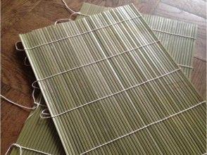 【東京・台東区】綺麗に並べて編む のり巻き簾づくり体験の画像