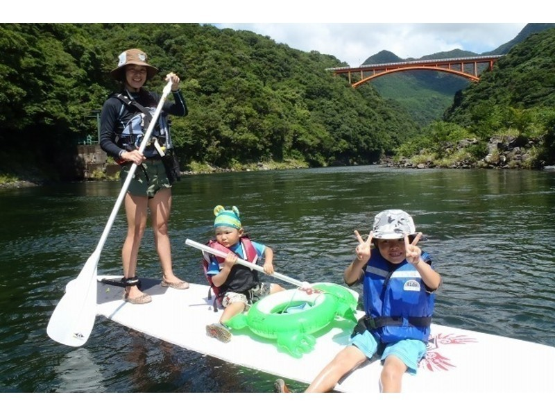 [Kagoshima / Yakushima] Regional common coupon dealers Beginners are welcome! SUP experience (1 day course)の紹介画像