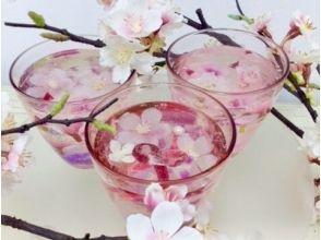 【東京・日本橋】綺麗なお花とジェリーで作るジェルグラス!【フラワーアレンジメント】の画像
