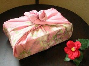 【京都・風呂敷作り】オリジナル風呂敷作りとすぐに使える6種類の風呂敷包み方レッスン!の画像