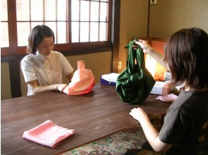 [Kyoto furoshiki] can be used in a variety of applications! 12 types of furoshiki wrapping how lessons! Image of