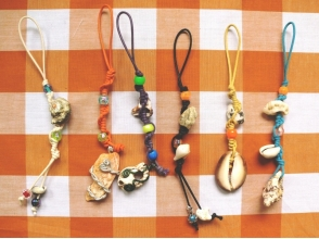 【Okinawa · Ginza】 Pick up seashell and experience marine craft! Image of 3 point creation plan (120 minutes course)