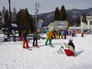 【新潟・湯沢町】新スノースポーツにチャレンジ!スノーバイクスクール「神立スノーリゾート」
